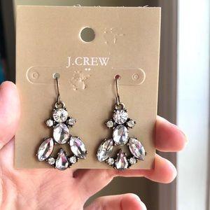 JCrew Triangle Fish Hook Earrings